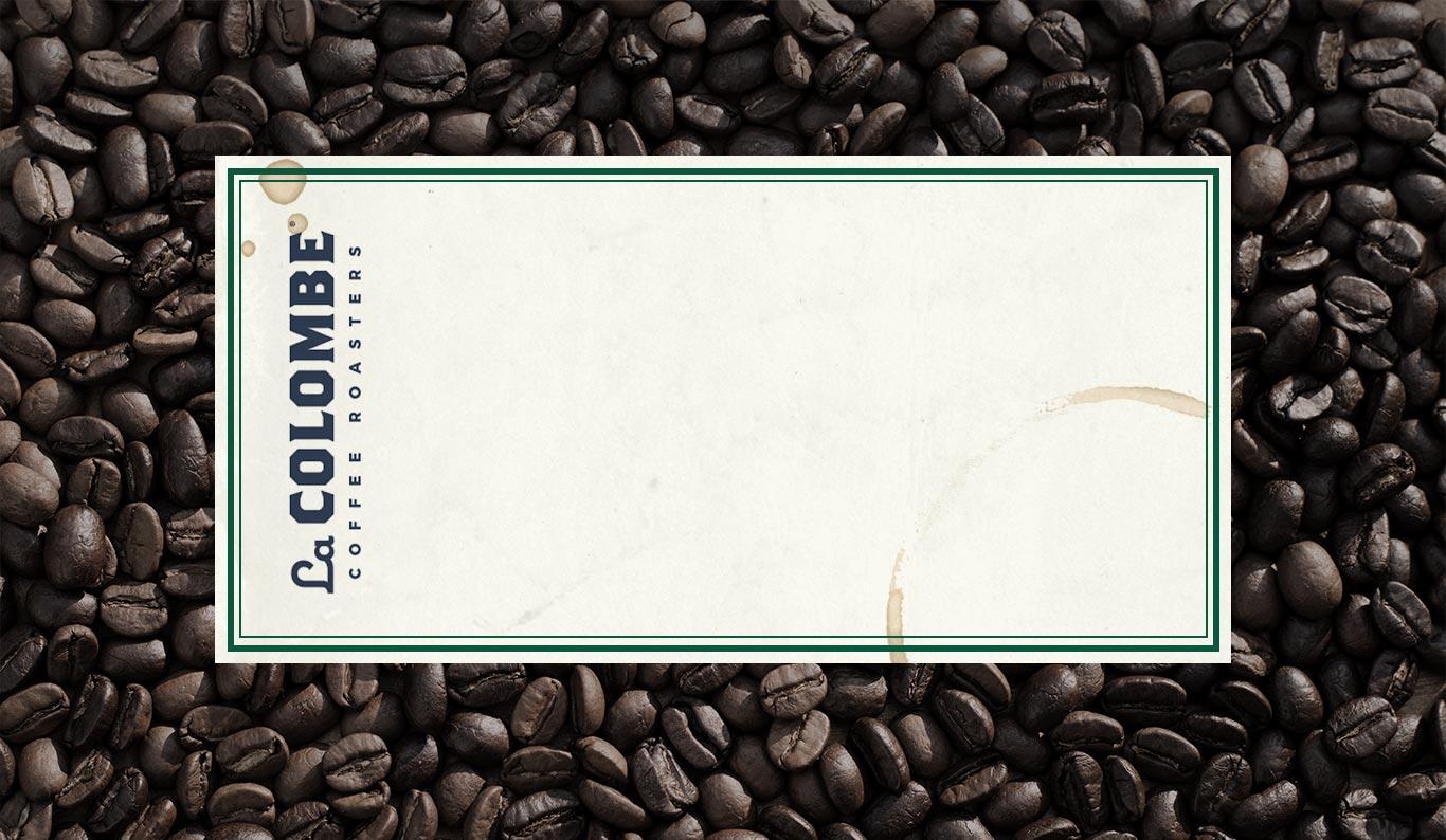 Background of dark coffee beans.