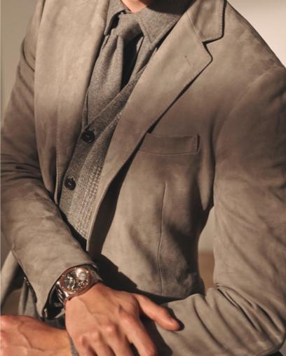 Kent Suede Suit Jacket