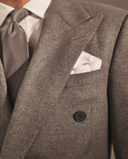 Ralph Handmade Flannel Suit