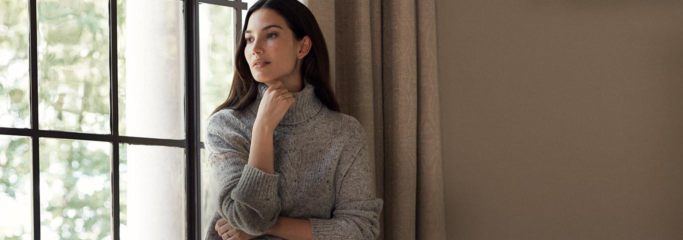 Woman wearing Lauren Ralph Lauren styles