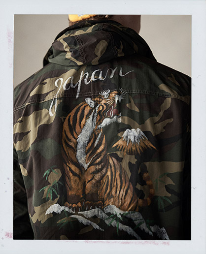 Camo Graphic Jacket