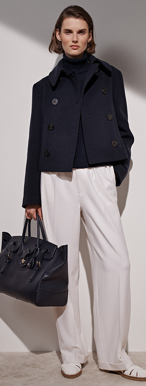 Aiden Cropped Peacoat