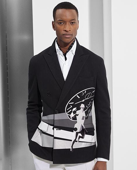 RLX Knit Graphic Sport Coat