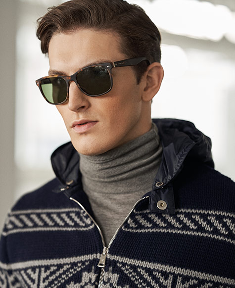 Wool-Blend Full-Zip Jumper
